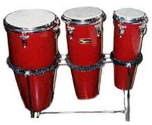 single bongo drum